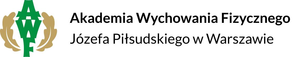 Logo - Józef Piłsudski University of Physical Education in Warsaw
